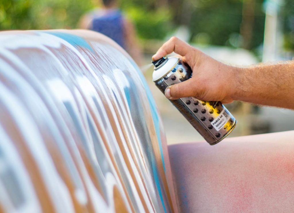 the best spray paint for fabric