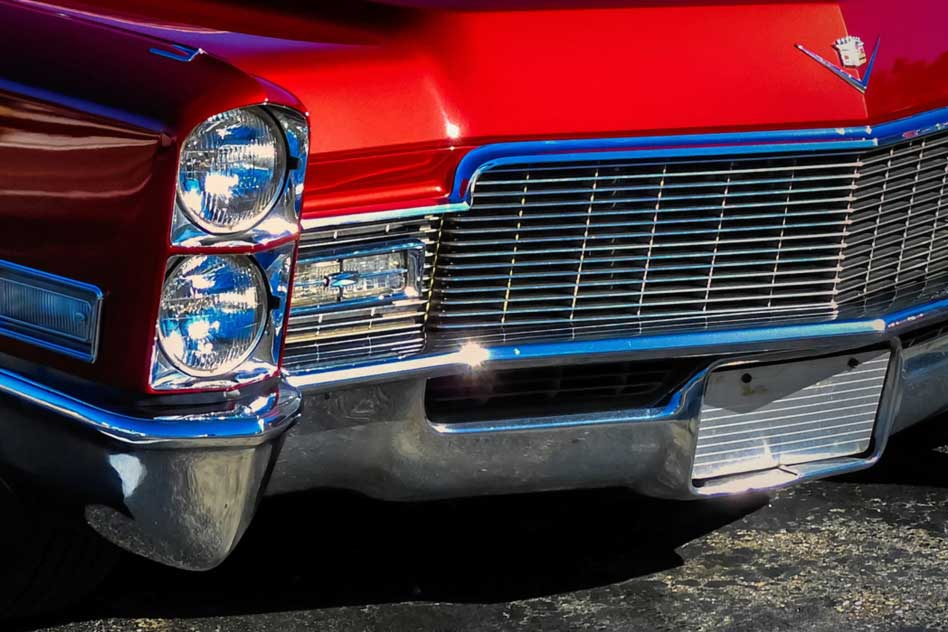 how to paint a chrome grill